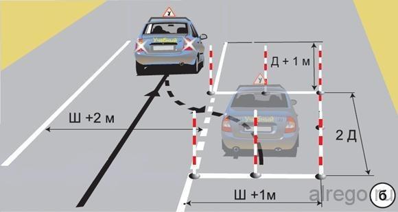 параллельная парковка на