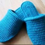 Вязание тапочек крючком (видео урок)
