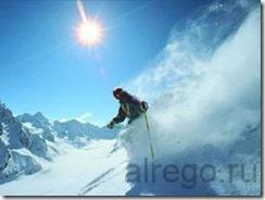 как кататься на горных лыжах