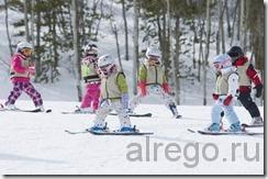 техники катания на горных лыжах.