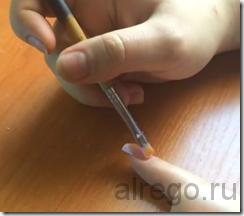 Гелевое наращивание ногтей на типсах (видео обучение).