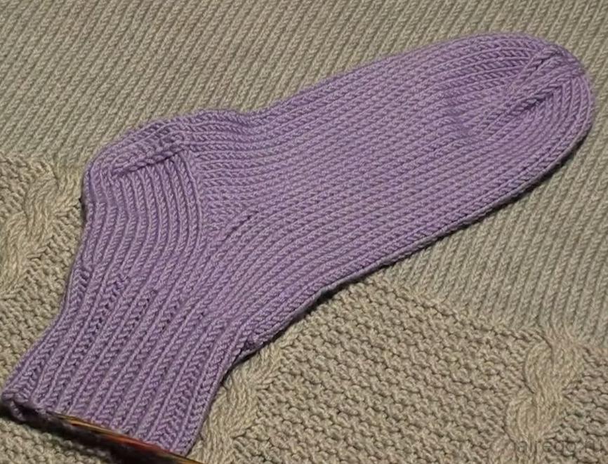 Вязание носков для начинающих Вязание