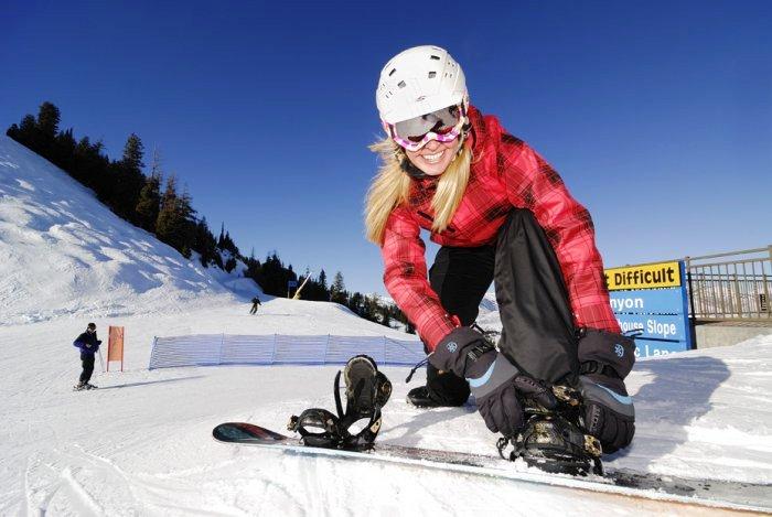 Основы сноуборда для новичка  - видео урок