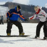 Основы сноубординга, первые шаги на склоне — видео урок