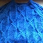 Как вязать спицами мужской пуловер с рукавом реглан — видео урок