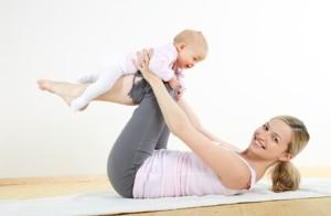Гимнастика  после родов для похудения в домашних условиях