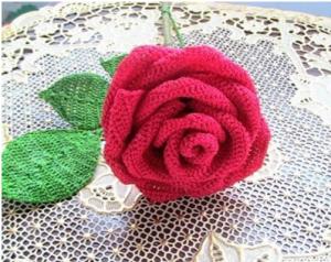 Вязание крючком цветы розы - видео урок