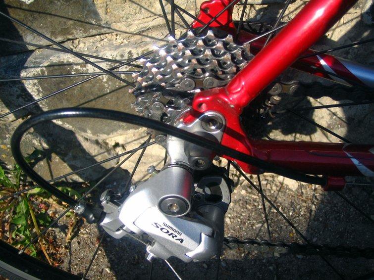 настройка заднего переключателя велосипеда
