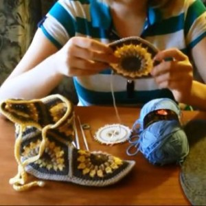 Мастер-класс по вязанию крючком домашних тапочек -сапожек