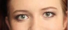 Макияж для рыжих с зелеными глазами.