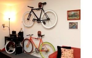 Как хранить велосипед зимой в квартире.