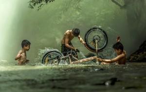 Как правильно мыть велосипед в домашних условиях - видео
