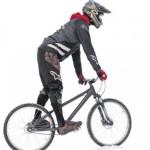 зимой на велосипеде